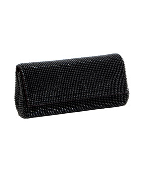 Whiting & Davis Pyramind Mesh Clutch