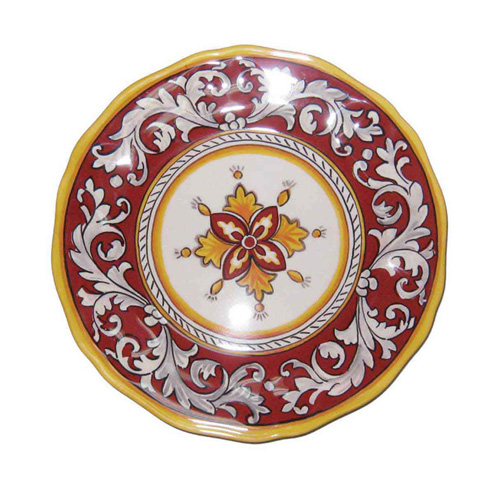 LeCadeux 107 Malaga Red Dinner Plate