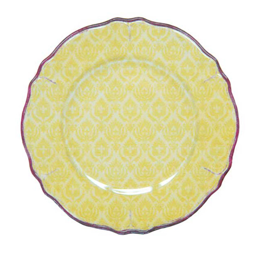 LeCadeux 109 Louis Yellow Salad Plate