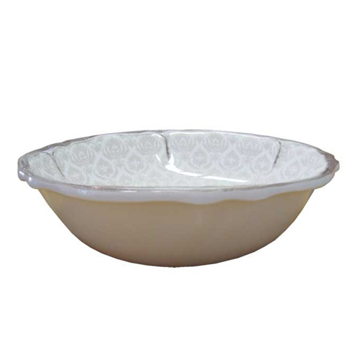 Le Cadeux 233 Louis White Cereal Bowl
