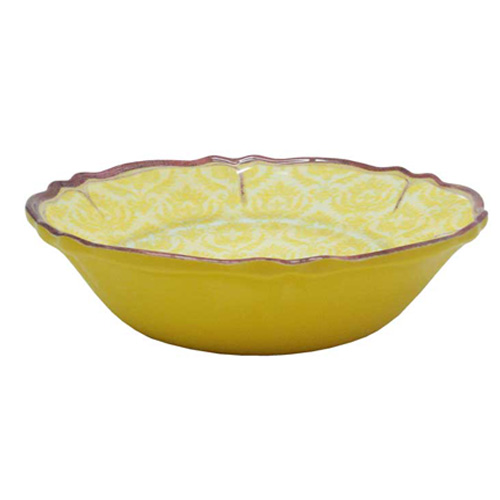 Le Cadeux 233 Louis Yellow Cereal Bowl