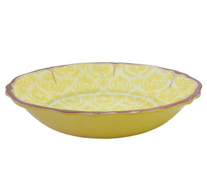 LeCadeux 235 Louis Yellow Salad Bowl