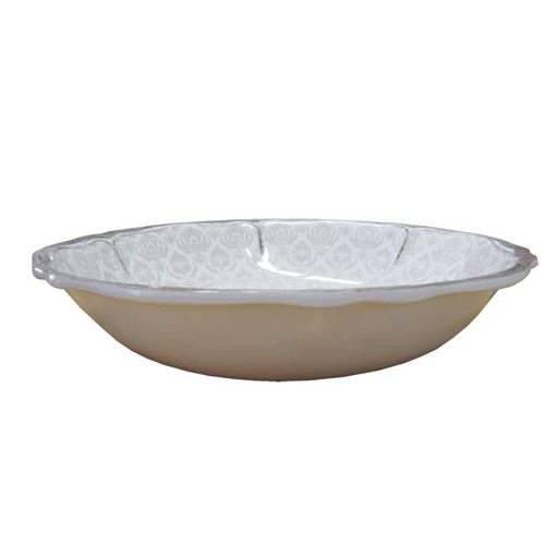 LeCadeux 235 Louis White Salad Bowl