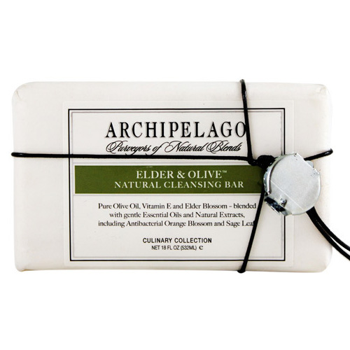 Archipelago Elder & Olive Bar Soap