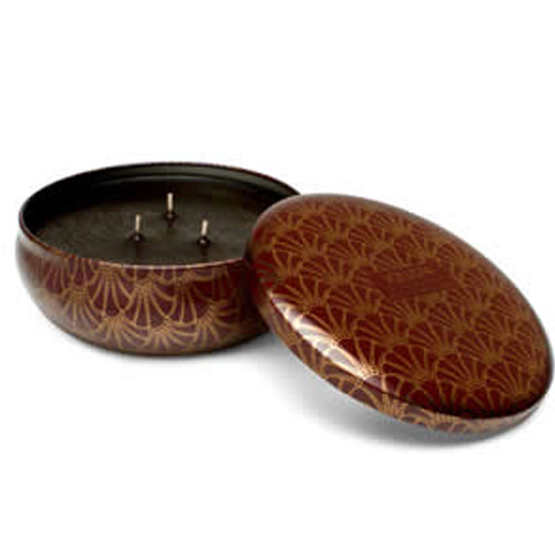 Volupsa French Bourbon Vanille 3 Wick Candle Tin