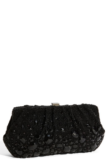 Santi Black Evening Bag