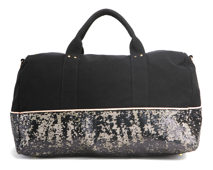 Deux Lux Koh Samui Weekender Bag in Black