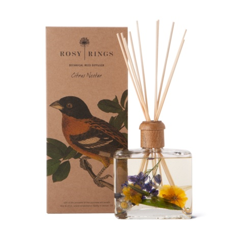 Rosy Rings Citrus Nectar Reed Diffuser