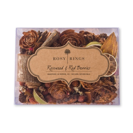 Rosy Rings Rosewood & Red Berries Potpourri