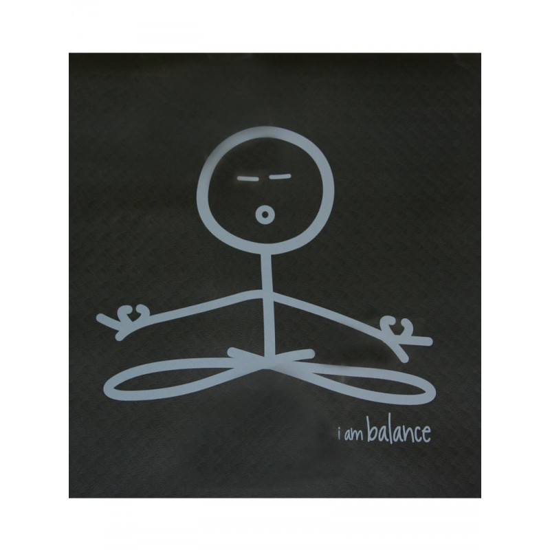 Peace Love World Yoga Mat